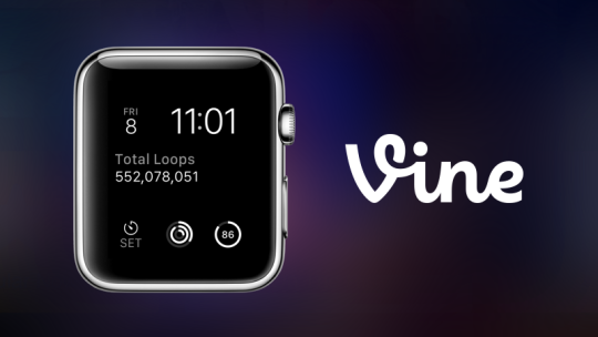 Vine App Apple Watch