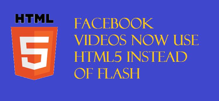 Facebook Videos HTML5