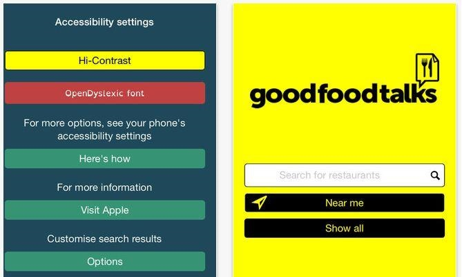 Good Food Talks Features