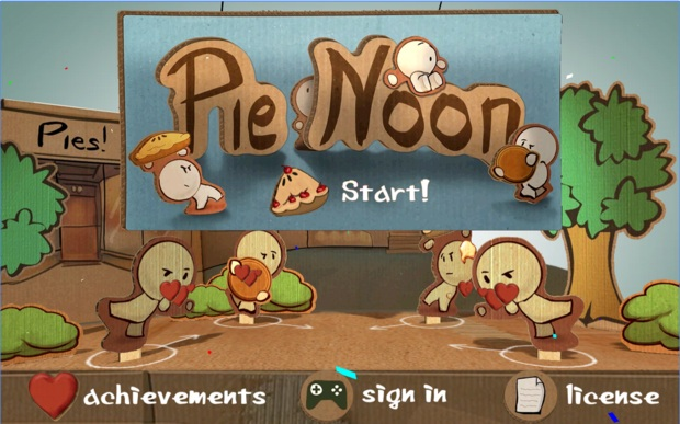 Pie Noon Google Christmas Game