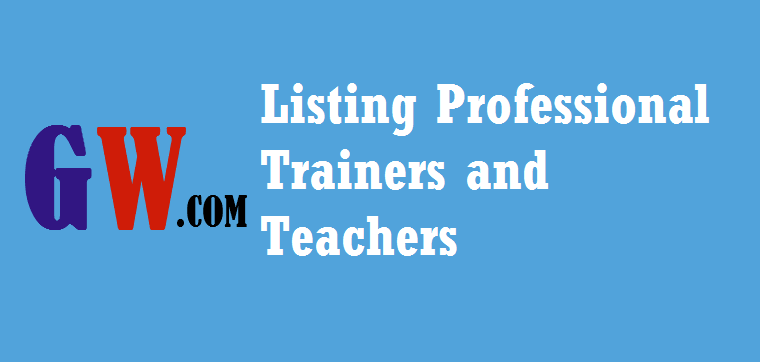 Training Professional and Teachers