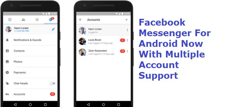 Facebook Messenger For Multiple Accounts