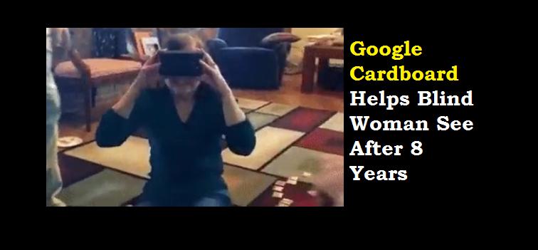 Google Cardboard for blind