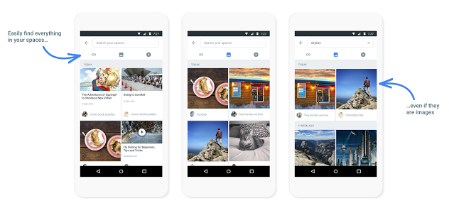 Google Spaces App