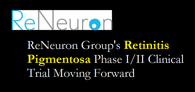 ReNeuron Group RP Clinical Trial