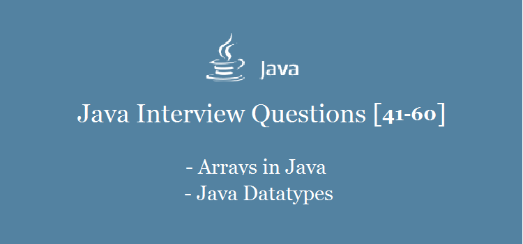 Java-Arrays-Interview-Questions