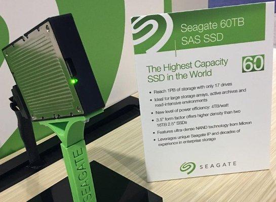 Seagate 60TB SSD Drive