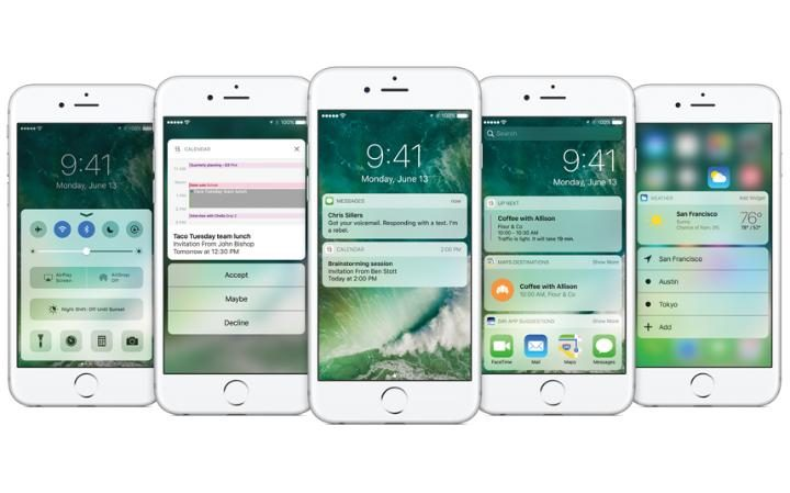 iOS 10 announced